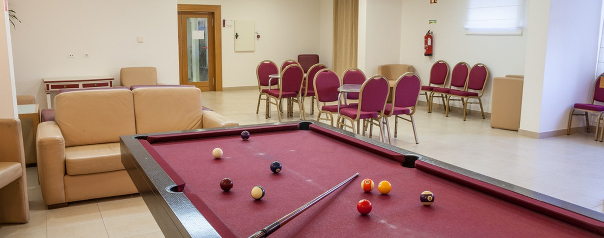 Billiards do Lago Hotel en Braga